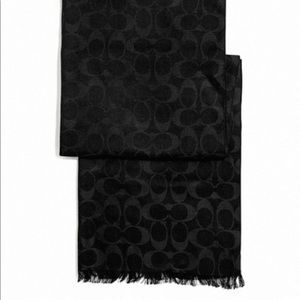 Coach Signature Scarf/Wrap